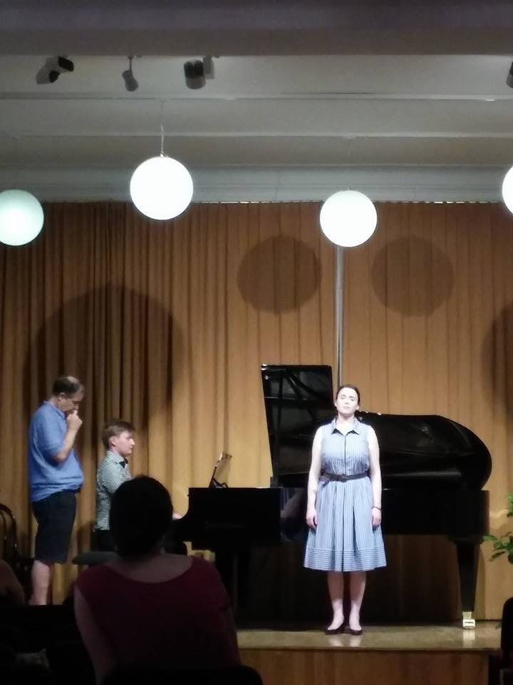 Jack Olszewski, Piano, And Kate Johnson, Soprano, At The Haus Der Kunst Master Class With Julius Drake