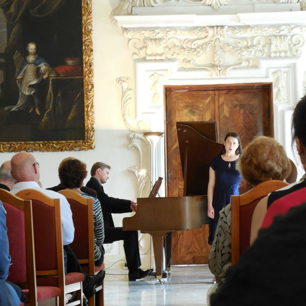 Jack Olszewski, Piano, And Kate Johnson, Soprano, At The Heiligenkreuz Abbey 01