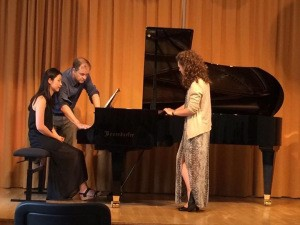 Sarah Forestieri And Seoyon MacDonald In Master With Julius Drake, Pianist