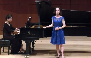 Veronika Anissimova and pianist Hye Jung Shin